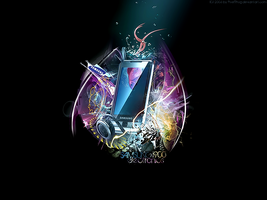 Samsung Omnia Wallpaper Basic by legalcrime
