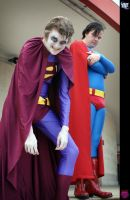LFCC: Bizarro and Superman by NekoFlameAlchemist
