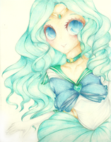 Sailor Neptune by Daisy-San