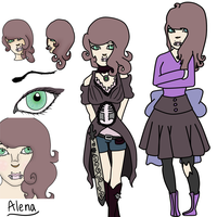 Alena by SteampunkedRP