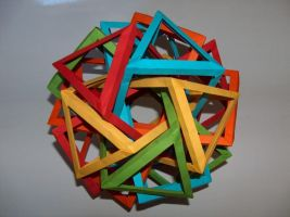 Ten Interlocking Prisms-first by Droserion
