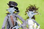 Goblin Bride and Groom 2 by Dragon-flame13