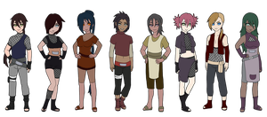 Naruto Adoptable Set 18 :2 Left: by Thongchan