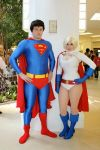 Superman and Powergirl by srsRazzmatazz