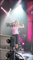 Avril Lavigne in Concert 5 by lilith77