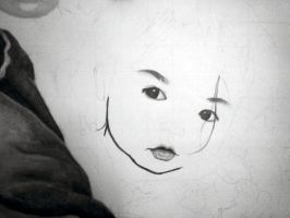 Little Asian Girl WIP 1 by toxicdesire