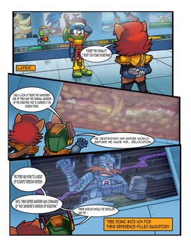 Mobius Legends Issue #1 - Page 3 (Old) by Yarcaz