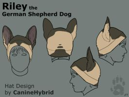 Riley Hat Design by CanineHybrid