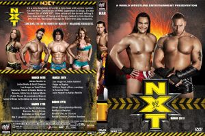 WWE NXT March 2013 DVD Cover by Chirantha