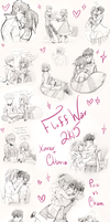 FluffWar 2k15 by RosariaBec