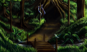 Forests and Whispers by Oreramar