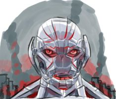 Ultron by Jay-Marvel