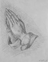 The Praying Hands by Katyma