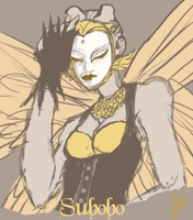 easter event sketches - Subobo by AnimeMan90