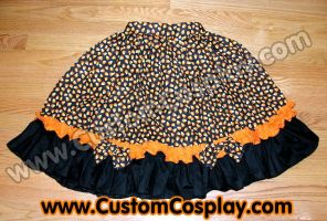Candy Corn lolita skirt by The-Cute-Storm