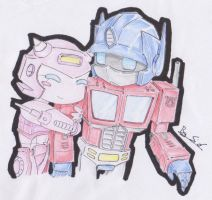 Optimus And Elita1 by Sidian07