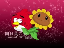 Love of Sunflower by MrDraftsman