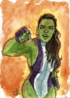 SHE-HULK by photon-nmo