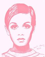Twiggy Pink by SarahCleary