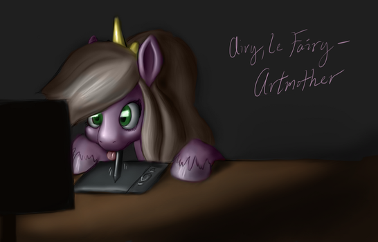 Gift for AiryLeFairy by DanielWaterhorse
