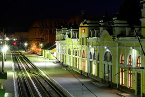 railway station by Reetqa