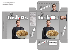 Tosh.O's Cereal Box by mellolotus33