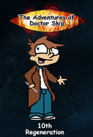 Doctor Skip Trading Cards - Card 1 - 10th Skip Ft by GreedLin