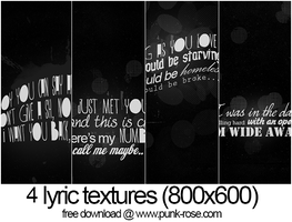 lyric dark textures by mayrapie