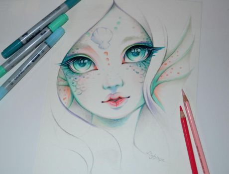 Marina the Mermaid by Lighane