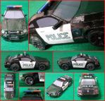 Mustang Transformers 4 Barricade Papercraft by Mironius