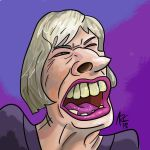 May Caricature by WesleyRiot