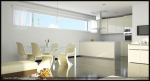 UV Building Kitchen by diegoreales