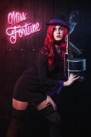 Mafia Miss Fortune by JubyHeadshot