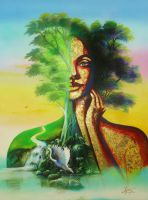 Mother Earth by gomezarts