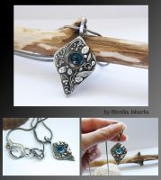 Silver Clay necklace 2 by mea00