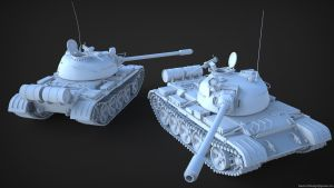 Russian T54 by pasco295
