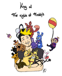 King of Five Nights At Freddy's by yuminica
