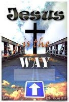 Jesus is the way - namecard by Setrahyn