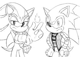 Blaze And Slade by soggycereal