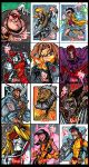 X-Men Archives Misc. by skulljammer