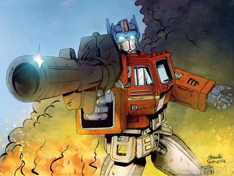 Optimus Prime by S-Forester