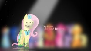 fluttershy background # 5 by fillypie