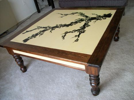 Cherry Blossom coffee table by Elisto