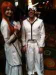 Bleach: Orohime and Ulquiorra by PurgatoryDean