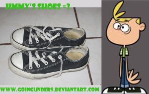 Jimmy's shoes Cosplay by goingunder9