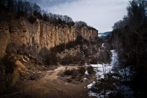 Early Spring Canyon by ambrotos