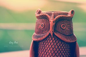 Clay Owl by yearuzzaman