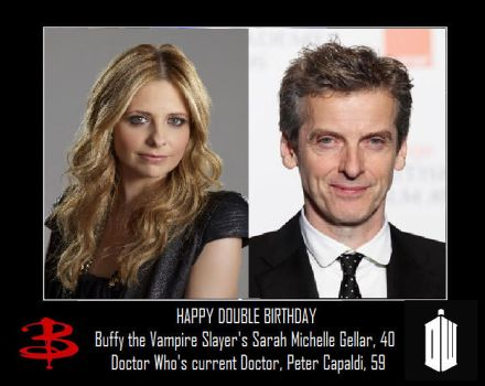 Happy Double Birthday by DoctorWhoOne