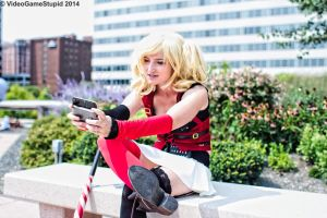 Otakon 2014 - Harley Quinn(PS) 13 by VideoGameStupid