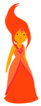 Flame Princess by janelvalle
